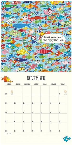 Twigseeds 2020 Wall Calendar